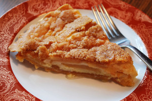 Apple Custard Pie