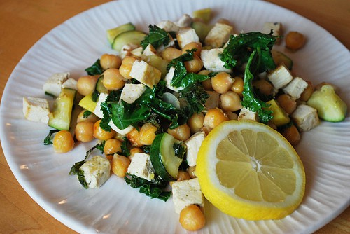 Lemony Chickpea Stir-fry - Fake Ginger