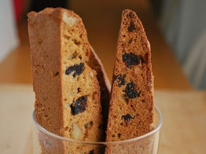 Fig & Walnut Biscotti