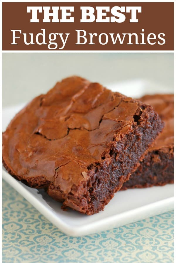 Tartine Brownies - the best brownie recipe from the famous Tartine bakery! They are fudgy with perfect crackly tops.