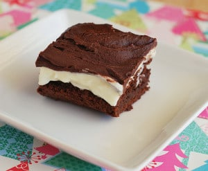 Peppermint Patty Brownies + Giveaway!