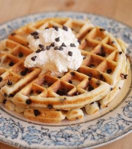 Chocolate Chip Waffles