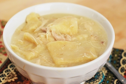 Chicken and Dumplings - Fake Ginger