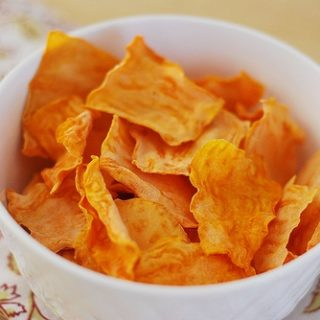 Baked Sweet Potato Chips + a GIVEAWAY!