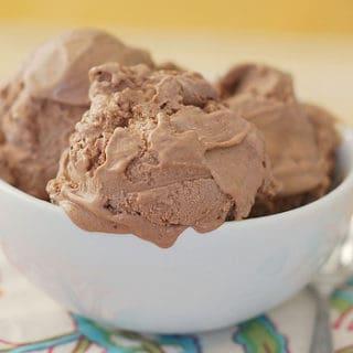 Chocolate Ganache Ice Cream