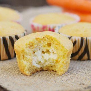 Carrot Cream Cheese Muffins