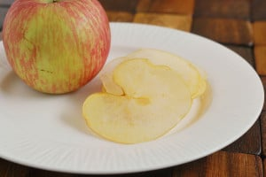 Candied Apple Chips