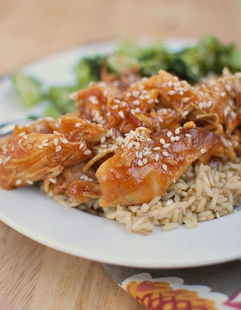 Honey Sesame Chicken (Slow Cooker)
