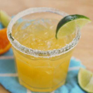 Fresh Orange Margaritas