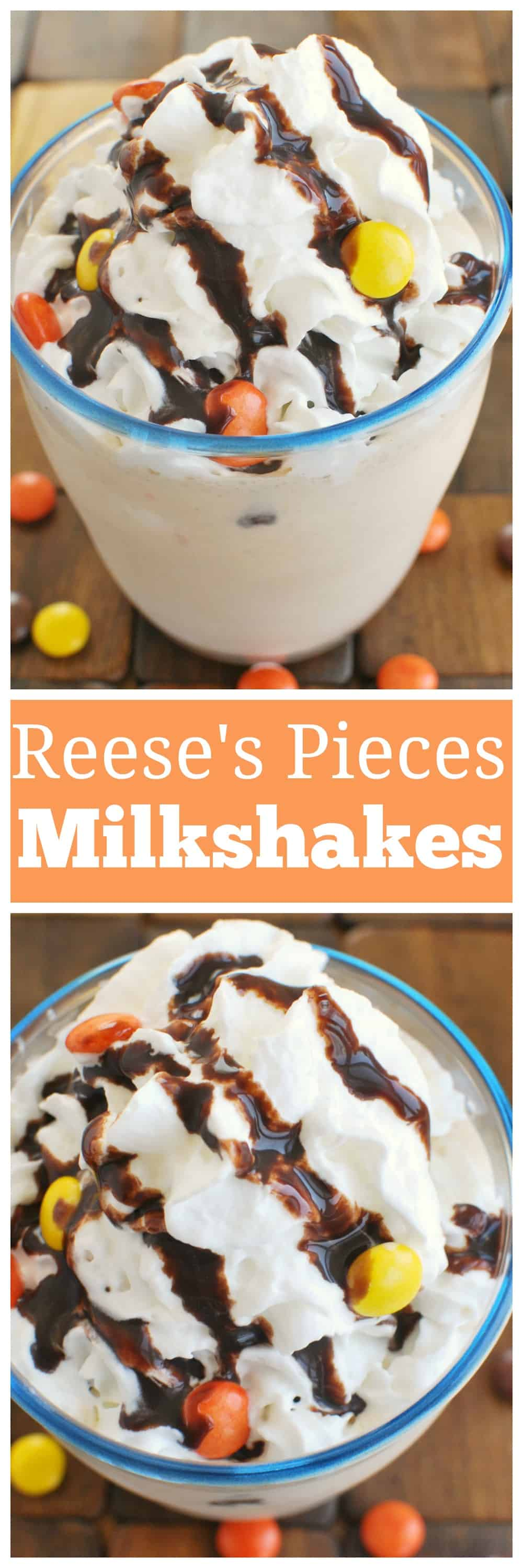 Reese's Pieces Milkshake