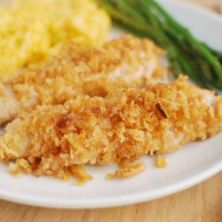 Crispy Onion Chicken Tenders