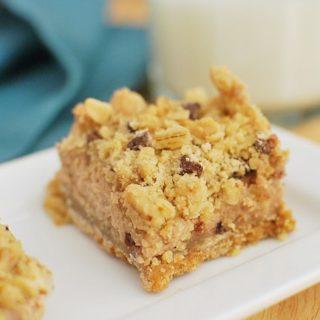 Mocha-Chip Cheesecake Bars