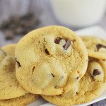 Peanut Butter Chocolate Chunk Pudding Cookies