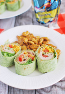 Zesty Turkey Roll-Ups
