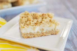 Creamy Lemon Crumb Bars