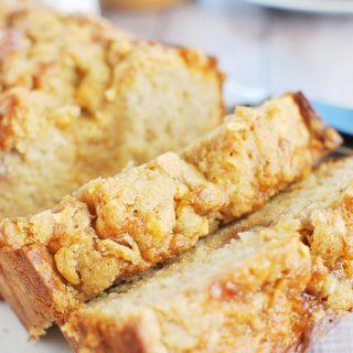 PB&J Banana Bread