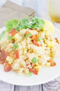 Bacon and Pineapple Fried Rice