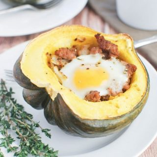 Breakfast Stuffed Acorn Squash