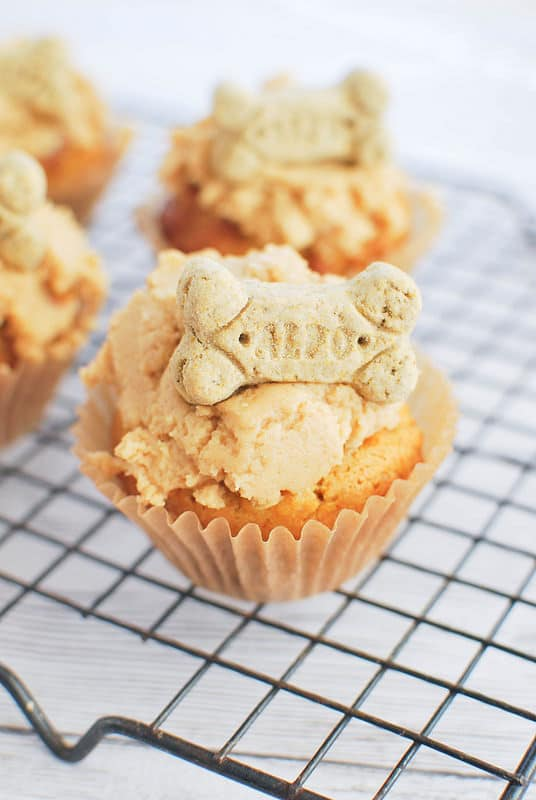 Peanut Butter Pupcakes