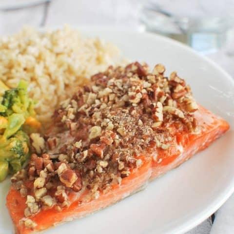 Maple Pecan Salmon
