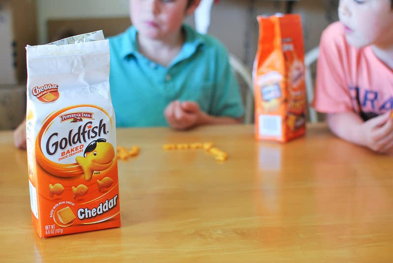 Fun with Goldfish® Crackers