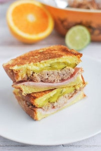 Cuban Sandwich (plus a cookbook giveaway!)