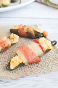 Grilled Bacon-Wrapped Jalapeno Poppers