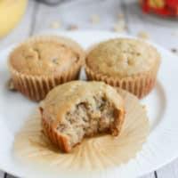 Sour Cream Banana Nut Muffins