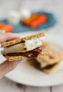 Peanut Butter Bacon S'mores