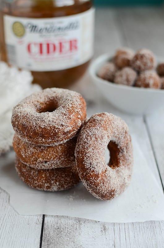 Apple Cider Doughnuts - Fake Ginger