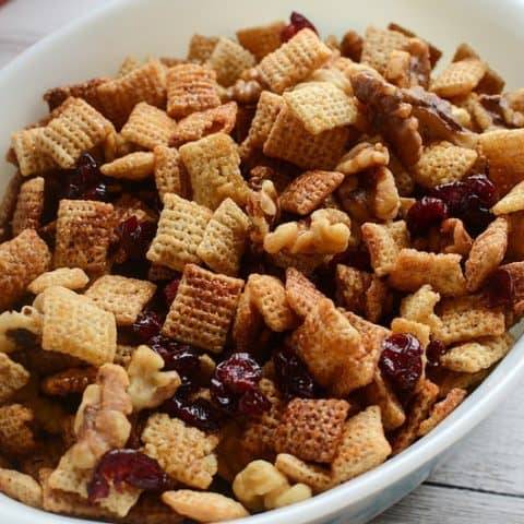 Cranberry Nut Chex Mix