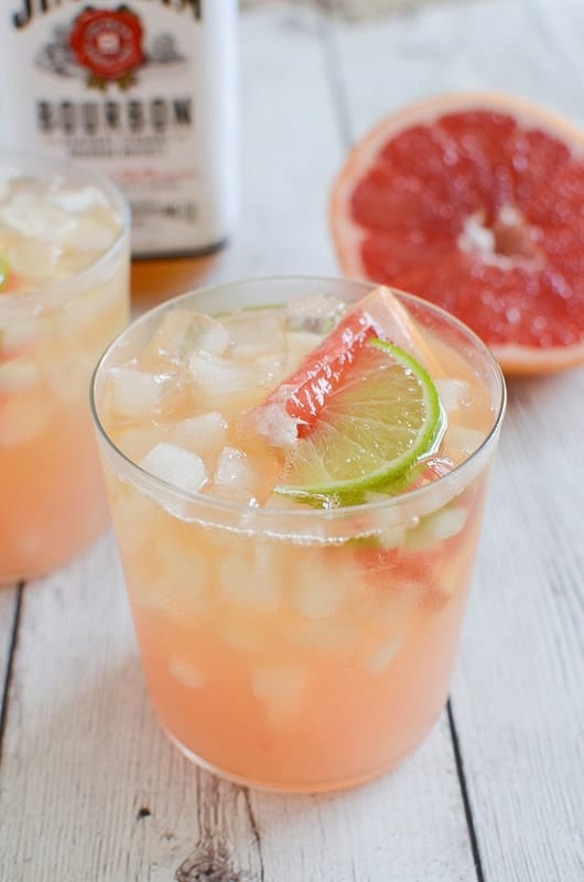 Grapefruit-Ginger Bourbon Sour