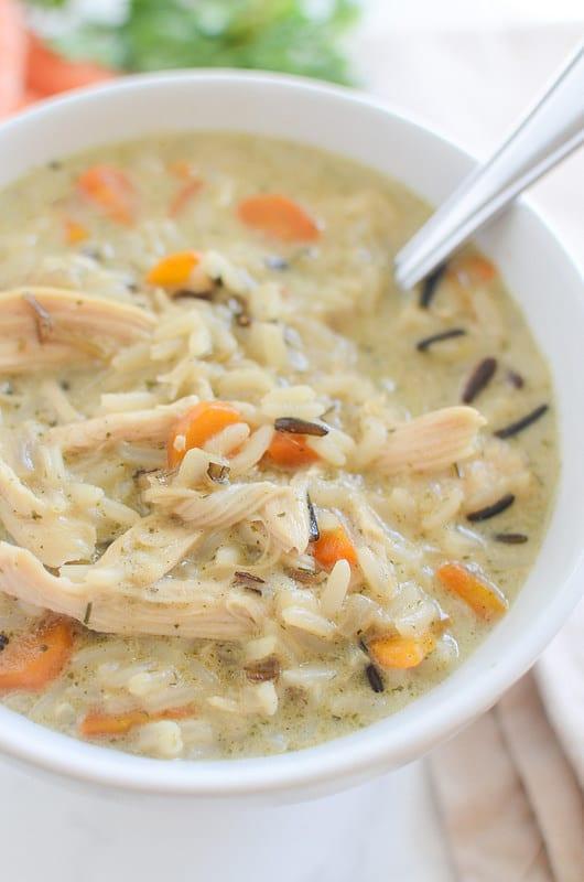 Chicken and Wild Rice Soup (Panera Copycat)