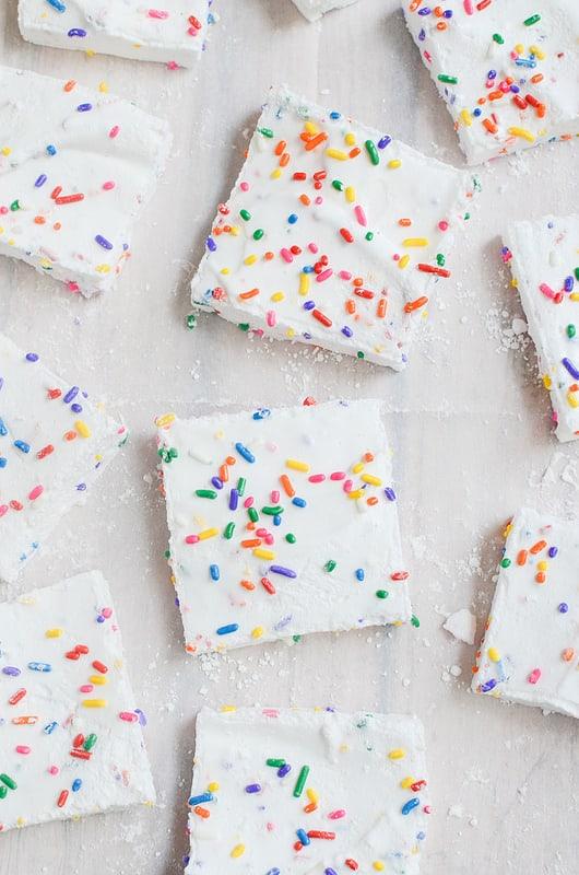 Homemade Sprinkle Marshmallows