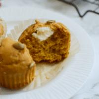 Maple Pumpkin Cream Cheese Muffins