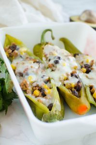 Stuffed Hatch Peppers