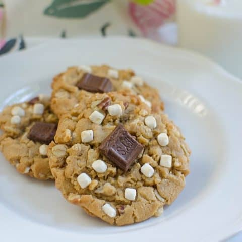 S'mores Monster Cookies