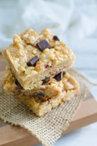 Peanut Butter Bacon S'mores Crispy Treats