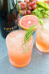 Grapefruit Rosemary Sparkler