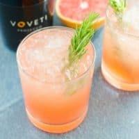 Grapefruit Rosemary Sparkler