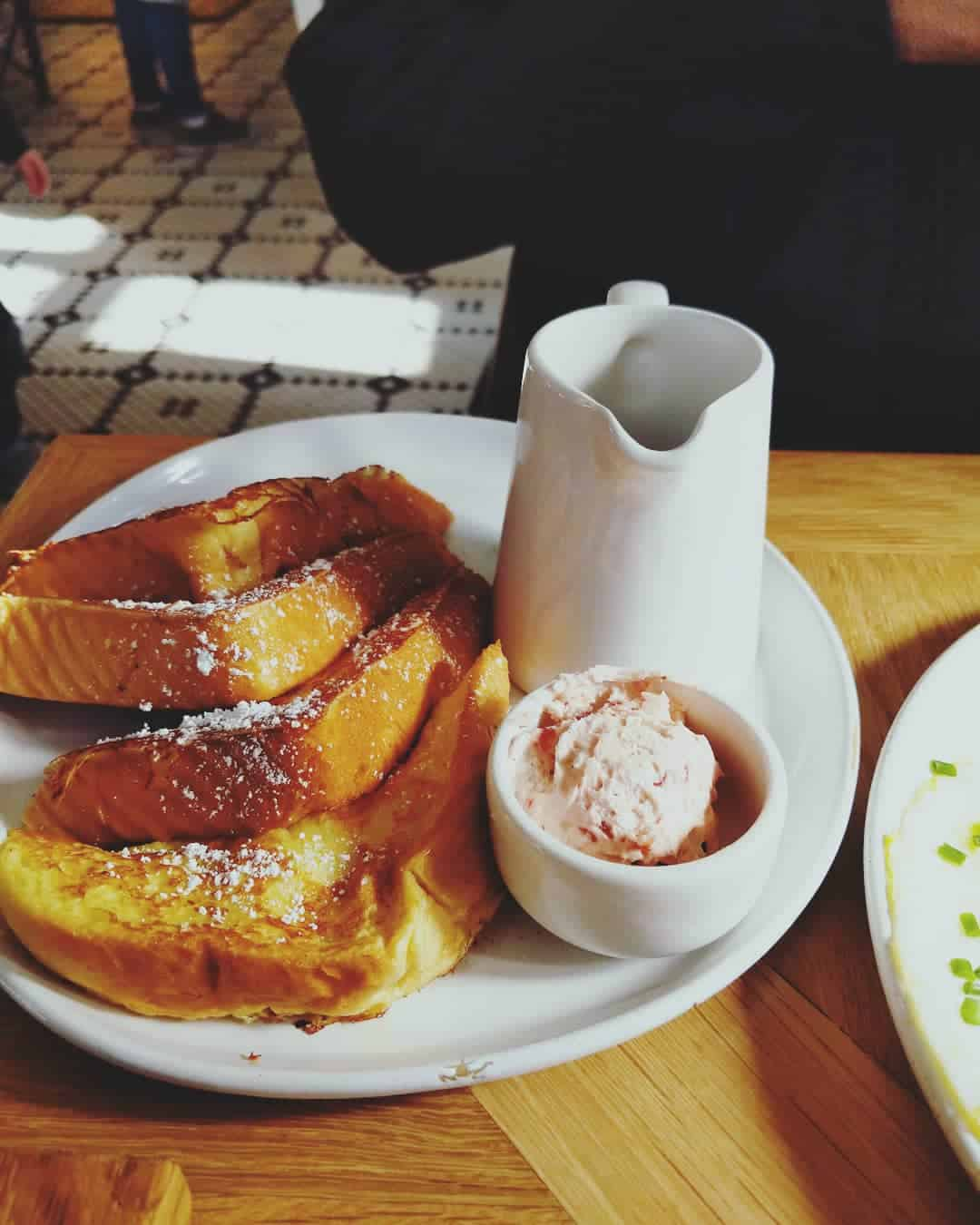 French Toast with Strawberry Butter from Magnolia Table