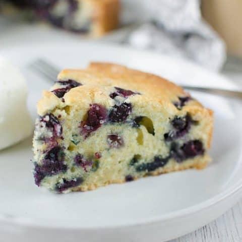 Blueberry Orange Coffee Cake