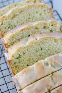 Meyer Lemon Zucchini Bread