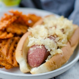 Beer & Brown Sugar Kielbasa