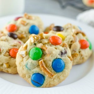 Sweet and Salty Pudding Cookies