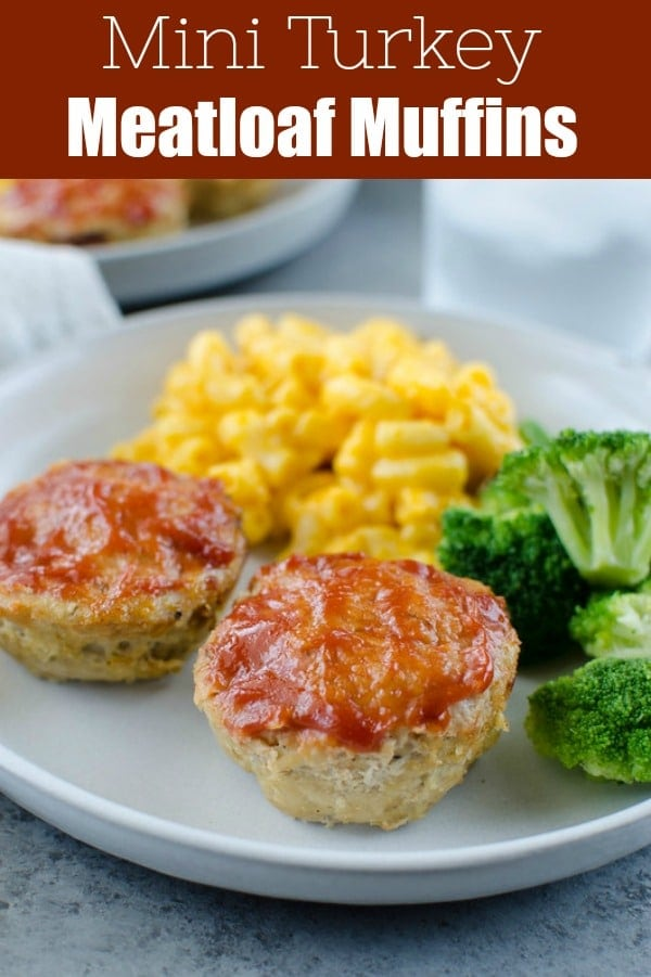 Mini Turkey Meatloaf - turkey meatloaf cooked in just 20 minutes in a muffin pan! Serve it with STOUFFER'S Macaroni & Cheese for a quick and easy weeknight meal.