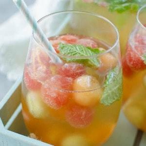 Melon Ball Sangria