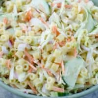 Cole Slaw Pasta Salad