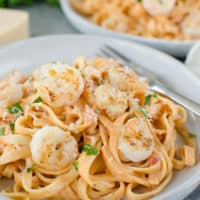 Pasta with Shrimp and Rosa Sauce