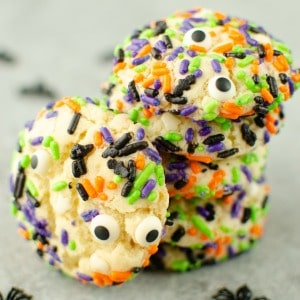 Halloween Confetti Cookies